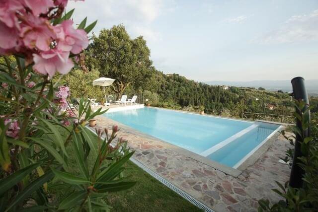 Agriturismo Toskana mit Pool, Urlaub auf dem Land Toskana, Infinity Pool