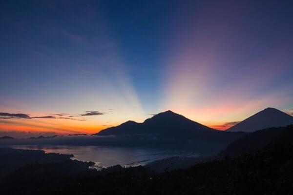 Bali Reisebericht, Sonnenaufgang auf dem Vulkan Batur