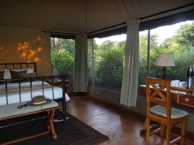 Kenia Abenteuerreise Ikweta Safari Camp