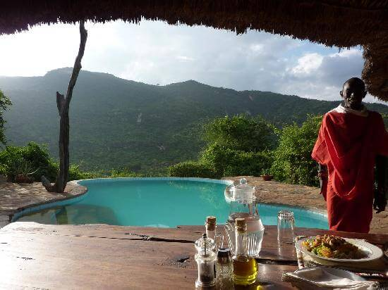 Privatreise Kenia Afrika, Maasai Lodge Il Ngwesi, Übernachten bei Massai